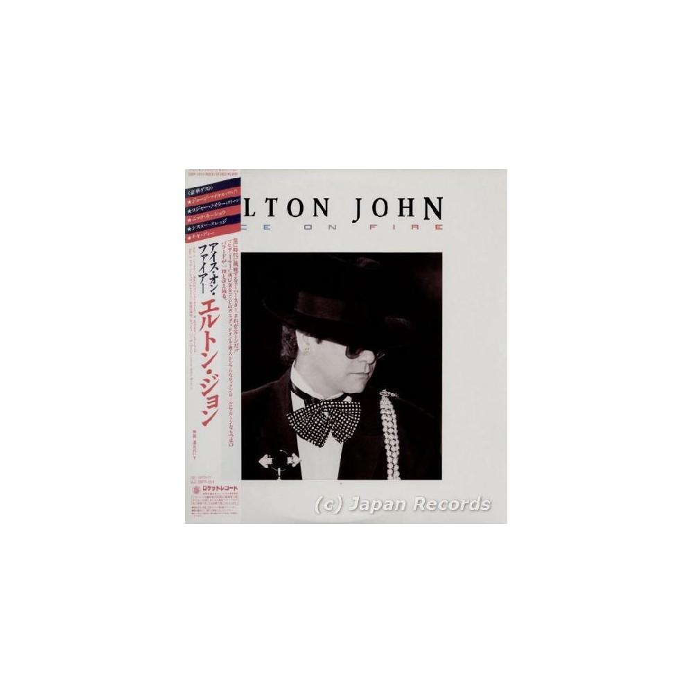 John, Elton - LP - JAP - Ice On Fire - WHITE LABEL PROMO
