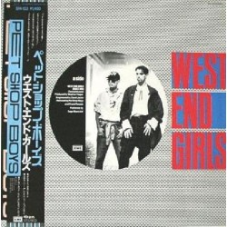 "Pet Shop Boys - 12"" - JAP - West End Girls"