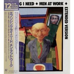 "Men At Work - 12"" - JAP - Everything I Need"