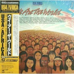 """USA For Africa - 12"""" - JAP - We Are The World"""