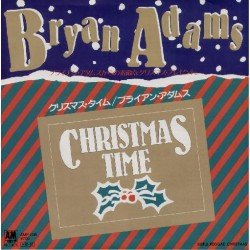 "Adams, Bryan - 7"" - JAP - Christmas Time"