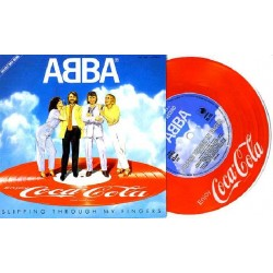 """Abba - 7"""" - JAP - Slipping Through My Fingers - Picture"""