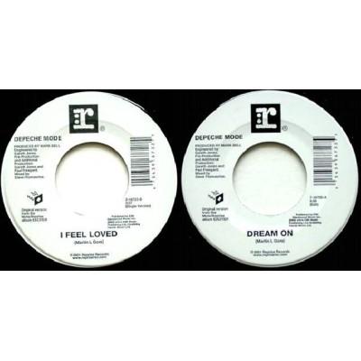 """Depeche Mode - 7"""" - USA - Dream on / I Feel Loved"""