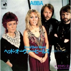 "Abba - 7"" - JAP - Head Over Heels"