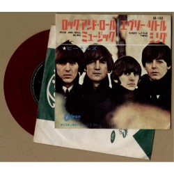 "Beatles - 7"" - JAP - Rock And Roll Music - Red Vinyl"