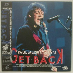 Beatles - Paul McCartney - Laserdisc - JAP - Get Back