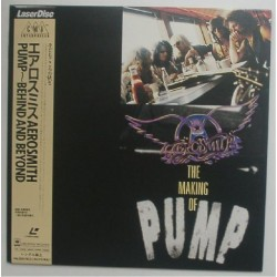 Aerosmith - Laserdisc - JAP - Pump-Behind And Beyond