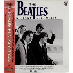 Beatles - Laserdisc - JAP - The First U.S. Visit