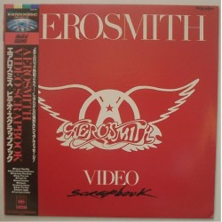 Aerosmith - Laserdisc - JAP - Video Scrapbook