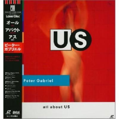 Genesis - Peter Gabriel - Laserdisc - JAP - All About Us