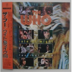 Who, The - Laserdisc - JAP - Live At The Isle Of Wight Festival 1970