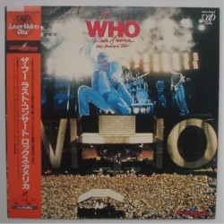 Who, The - Laserdisc - JAP - 1982 American Tour