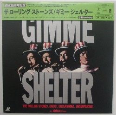Rolling Stones - Laserdisc - JAP - Gimme Shelter
