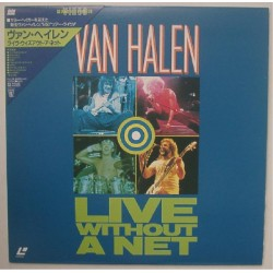 Van Halen - Laserdisc - JAP - Live Without A Net - SEALED