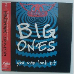 Aerosmith - Laserdisc - JAP - Big Ones You can Look at - SEALED