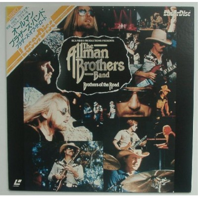 Allman Brothers Band - Laserdisc - JAP - Brothers Of The Road