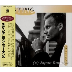 Sting - Police - CD - JAP - When We Dance - SEALED - PROMO