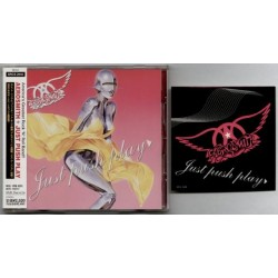 Aerosmith - CD - JAP - Just Push Play + Sticker - SEALED
