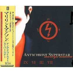Manson, Marilyn - CD - JAP - Antichrist Superstar - PROMO