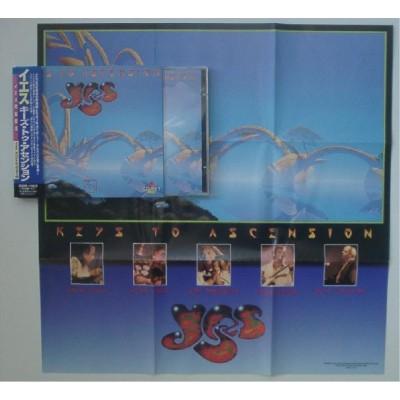Yes - 2 CD - JAP - Keys To Ascension + Poster - PROMO