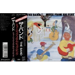 Band, The - CD - JAP - Music From Big Pink - PROMO