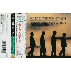 Echo & The Bunnymen - CD - JAP - Songs To Learn & Sing