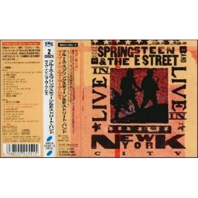 Springsteen, Bruce - 2 CD - JAP - Live In New York - PROMO