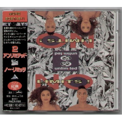 2 Unlimited - CD - JAP - No Limits