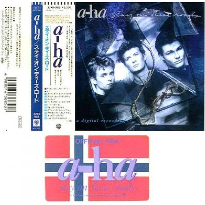 A-ha - CD - JAP - Stay on these Roads + Card