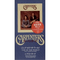"Carpenters - 3"" CD - JAP - Top Of The World - SEALED - PROMO"