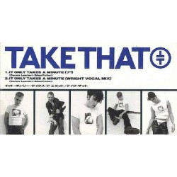 "Take That - 3"" CD - JAP - It Only Takes A Minute"