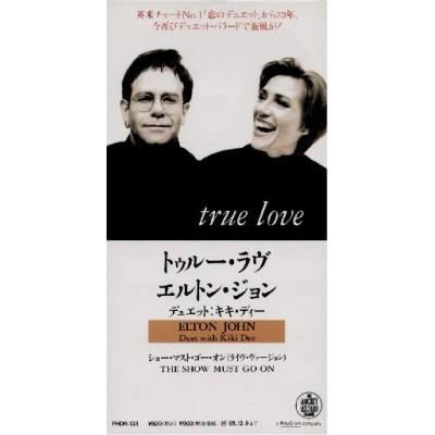 "John, Elton - 3"" CD - JAP - True Love - PROMO"